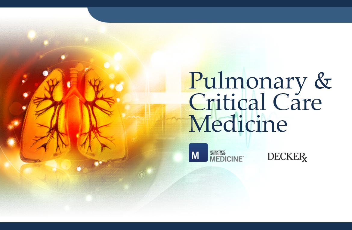 Pulmonary & Critical Care Medicine by Scientific American Medicine (SAM)
